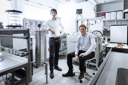 Jan Wurzbacher et Christoph Gebald, cofondateurs de Climeworks AG.