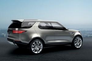 Discovery Vision : Land Rover présente le 4X4 du futur