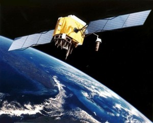 Un satellite GPS (© NASA)