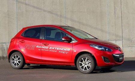 Prototype Mazda 2 RE Range Extender