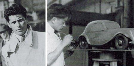 André Lefebvre et Flaminio Bertoni