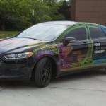Ford frime avec un concept-car allégé