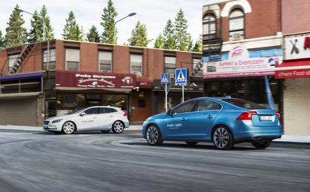 Volvo AstaZero : zone urbaine