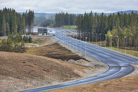 Volvo AstaZero : route à 4 voies
