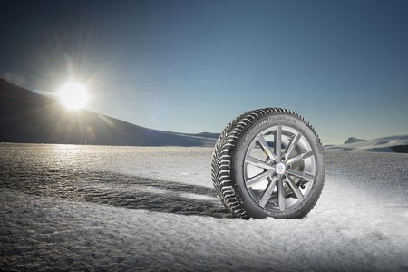 Le pneu Michelin CrossClimate