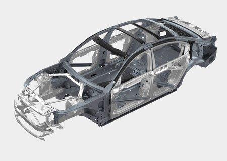 La coque multimatériaux de la nouvelle BMW Série 7