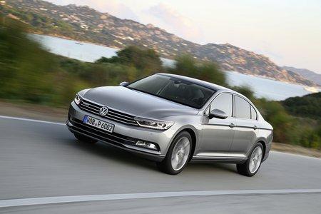 La Volkswagen Passat peut recevoir des amortisseurs pilotés en option.
