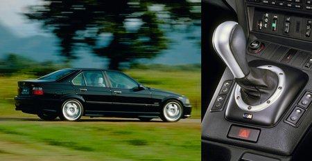 La BMW M3 E36 fut la première à recevoir une boîte robotisée.
