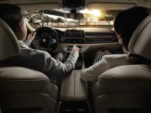 Commande gestuelle de la BMW Série 7