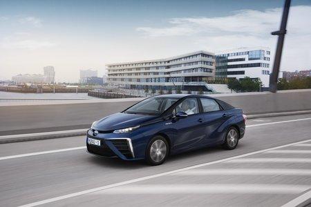 La Mirai à hydrogène : le futur selon Toyota.