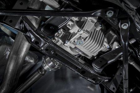 Le différentiel arrière de la Ford Focus RS