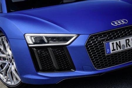 L'Audi R8 avec l'option phares laser