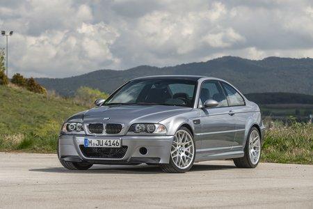La BMW M3 CSL E46, dotée de l'un des meilleurs 6 cylindres en ligne jamais conçu.