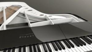 Le piano Pleyel signé Peugeot Design Lab.