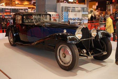 L'énorme Bugatti Royale recevait un 8 cylindres en ligne. © Vincent Desmonts