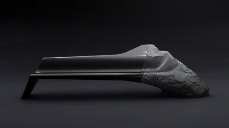 Le sofa Onyx du Peugeot Design Lab.