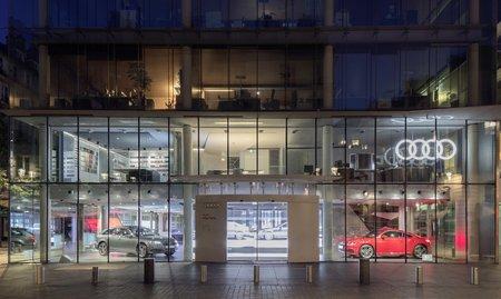 La concession Audi City de Paris.