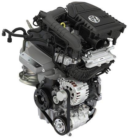 Un moteur 3 cylindres Volkswagen