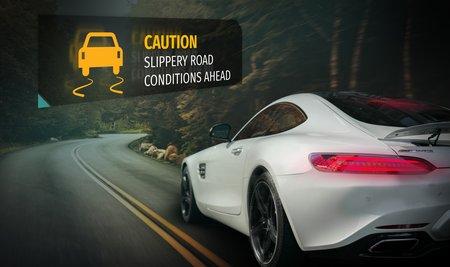 La cartographie du futur, ce ne sont pas que des plans, c'est aussi une information en temps réel sur les dangers de la route.