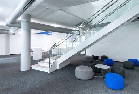Les nouveaux bureaux d'Audi à Ingolstadt.