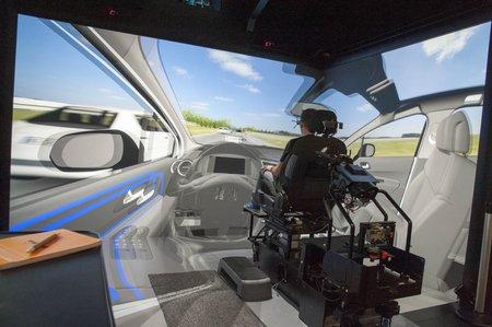 UX City PSA : la réalité virtuelle pour tester les interfaces des futures voitures autonomes.