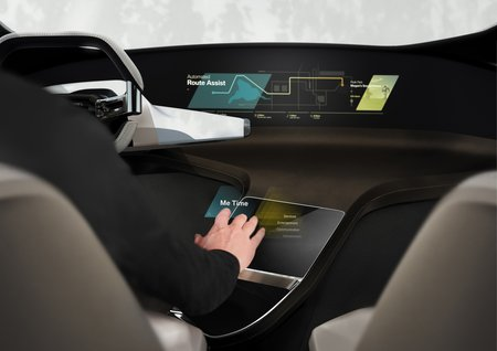 Interface holographique BMW.