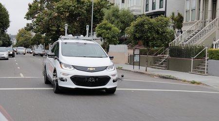 Une Chevrolet Bolt autonome de Cruise Automation, filiale de General Motors