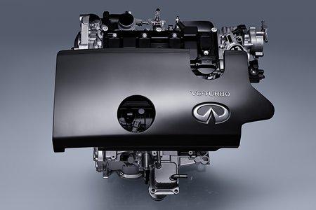 Le moteur VC-Turbo d'Infiniti.