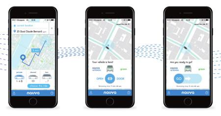 L'appli mobile Navya