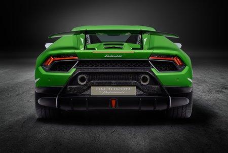 La Lamborghini Huracan Performante utilise un système d'aérodynamique active pour accentuer son efficacité.