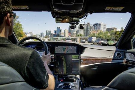 Pour l'instant, la (vraie) voiture autonome n'existe que sous la forme de prototypes.