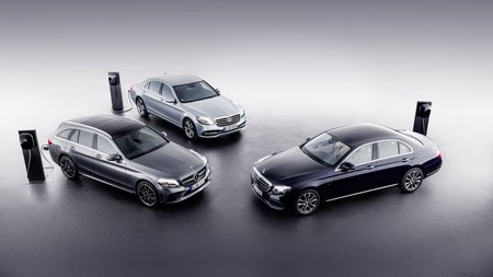 La gamme hybride diesel Mercedes