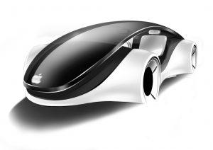 La voiture Apple telle qu'imaginée par le desginer russe Alexeï Tarasenko