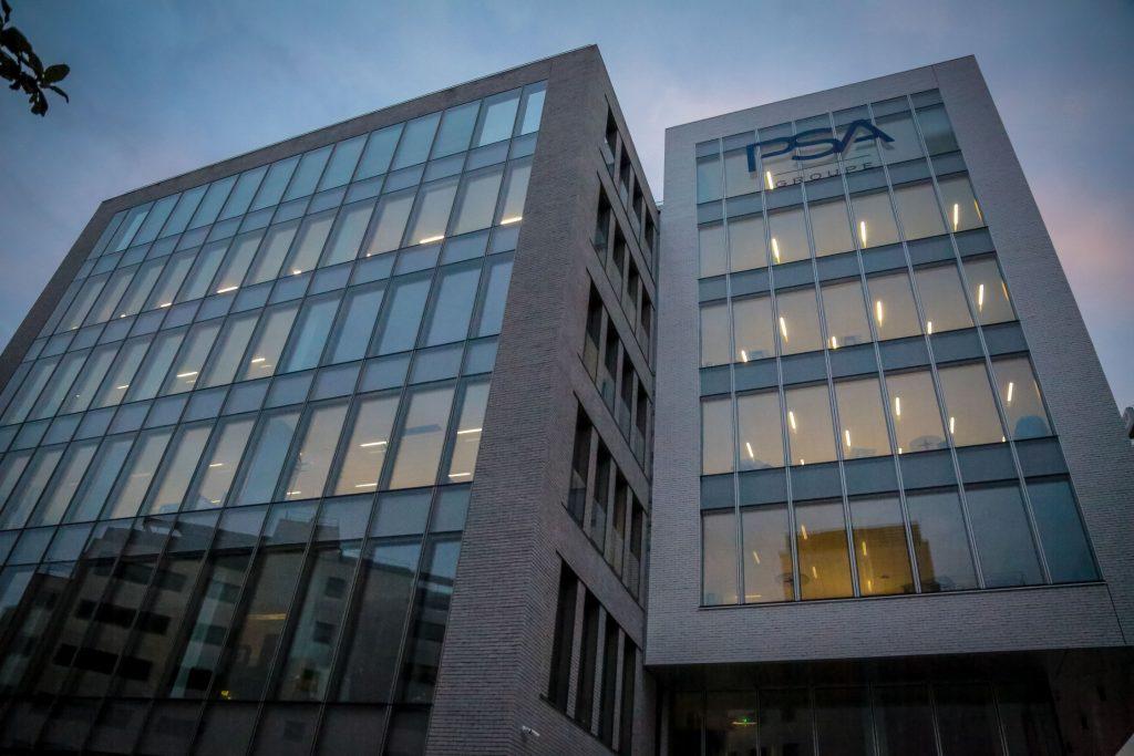 Le siège du Groupe PSA à Rueil-Malmaison