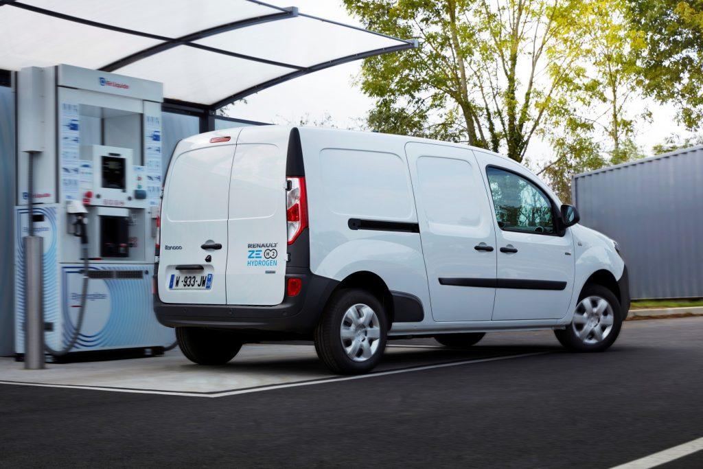 Renault Kangoo Z.E. H2 Hydrogen (doté d'une pile à combustible Symbio)
