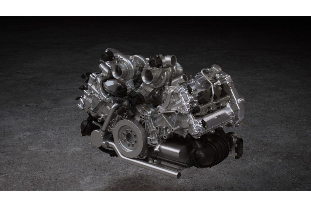 L'étonnant V6 biturbo à 120° de l'Artura.